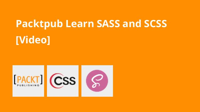 packtpub-learn-sass-and-scss-video